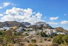 Mojacar szczytu wioska Fotografia Royalty Free