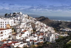 Mojacar Village Royalty Free Stock Image