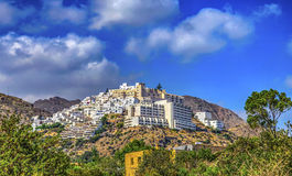 Mojacar Village in HDR. Almeria Province Andalusia Spain Royalty Free Stock Photos