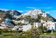 Mojacar Village Stock Photo