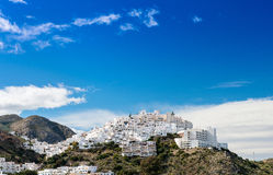 Mojacar Village Stock Image