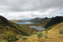 Mojanda lake, also called Laguna Caricocha, Ecuador Royalty Free Stock Photography