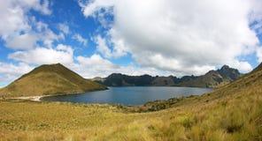 Mojanda lake, also called Laguna Caricocha, Ecuador Royalty Free Stock Images