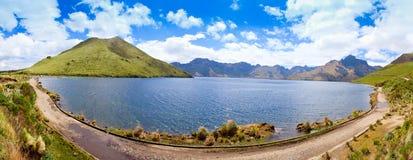 Mojanda Lake, Ecuador Stock Image