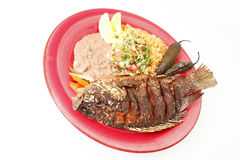 Mojarra Frita Royalty Free Stock Photos