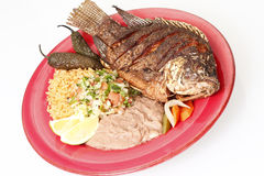 Mojarra Frita Royalty Free Stock Images