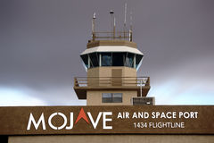 Mojave Air and Space Port Stock Image