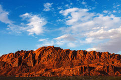 Mojave Desert Red Rocks In Valley Of Fire State Park Stock Photos