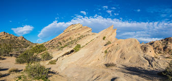 Mojave Desert Rock Formation Royalty Free Stock Images
