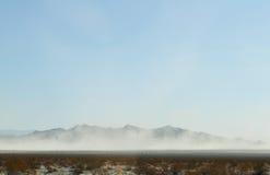 Mojave Desert Sand Storm Stock Photography