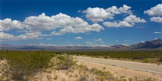 Mojave Desert - southern California Royalty Free Stock Images