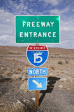 Mojave Freeway Stock Photography