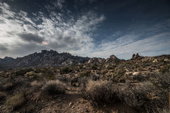 Mojave National Preserve Granite Mountains Royalty Free Stock Photos