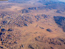 Mojave-Wüste und Joshua Tree National Park Lizenzfreie Stockbilder