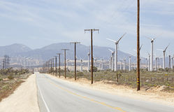 Mojave wind farm Royalty Free Stock Image