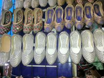 Mojdi ou chaussures Photographie stock