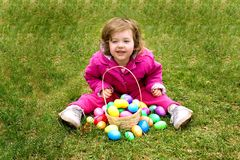 moje jaja wielkanoc Zdjęcia Royalty Free