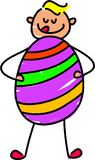 moje jajko wielkanoc Fotografia Stock