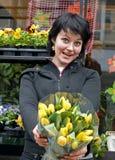 moje kwiaty zakupu Fotografia Royalty Free