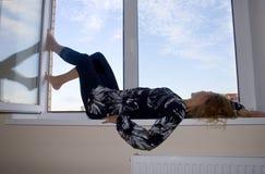 moje okno Fotografia Stock