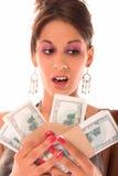moje pieniądze Obraz Stock