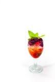 Mojiti-Cocktail im Hintergrund Lizenzfreies Stockfoto