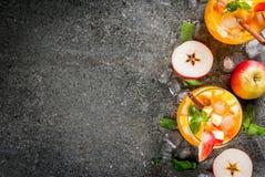 Mojito μηλίτη της Apple Στοκ Εικόνες
