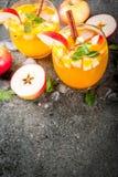 Mojito μηλίτη της Apple Στοκ εικόνες με δικαίωμα ελεύθερης χρήσης