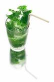 mojito близкого питья длиннее вверх Стоковые Фото