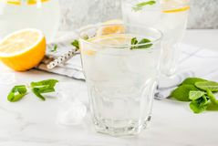 Mojito или лимонад лета Стоковое Изображение RF