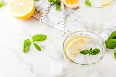 Mojito или лимонад лета Стоковое Изображение