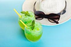 Mojito и шляпа коктеиля Стоковые Фото