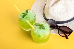 Mojito и шляпа коктеиля Стоковое Изображение RF