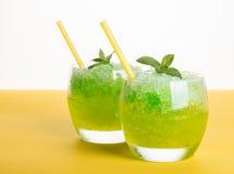 Mojito коктеиля спиртное от льда Стоковое Изображение