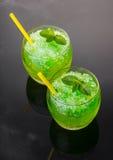 Mojito коктеиля спиртное от льда Стоковые Изображения