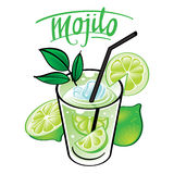 Mojito illustration libre de droits