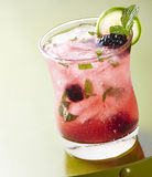 黑莓mojito 免版税图库摄影