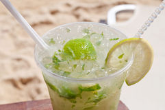 Mojito on the beach Royalty Free Stock Images