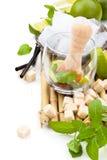 Mojito Bestandteile lizenzfreie stockfotos