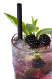 Mojito blackberry stock photos
