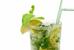 Mojito closeup Royalty Free Stock Photos