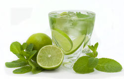 Mojito cocktai Royalty Free Stock Photo