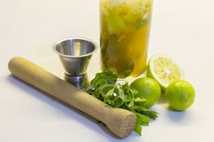 Mojito cocktail Stock Afbeeldingen