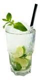 Mojito cocktail. In white background stock photo