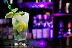 Mojito cocktail Royalty Free Stock Photos