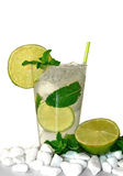 Mojito-Cocktail Lizenzfreies Stockfoto