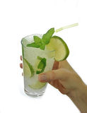 Mojito-Cocktail stockbilder