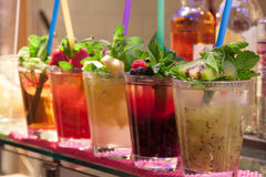 Mojito-Cocktail Lizenzfreie Stockfotografie