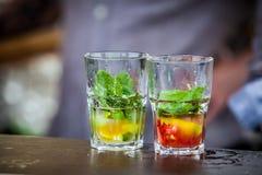 Mojito-Cocktail stockfotos