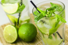 Mojito cocktail Images libres de droits